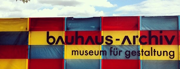 Bauhaus-Archiv is one of Berlin 🇩🇪.