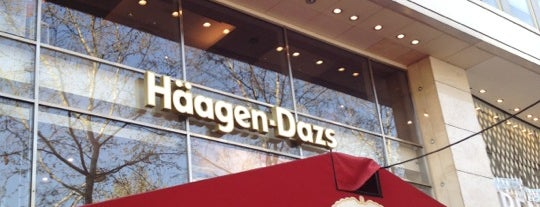 Häagen-Dazs is one of Paris.