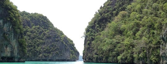 Maya Bay is one of Lugares favoritos de Patricio.