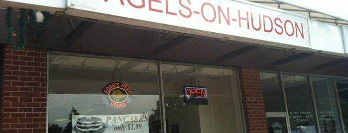 Bagels On Hudson is one of Ossining and Peekskill Places.