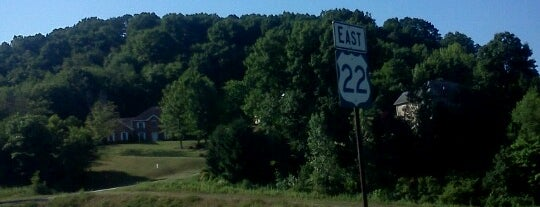 Route  22 is one of My places.