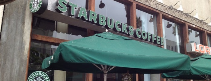 Starbucks is one of Santa Monica Coffee.