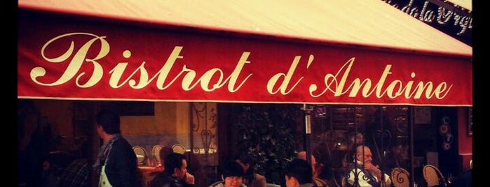 Le Bistrot d'Antoine is one of Nice.
