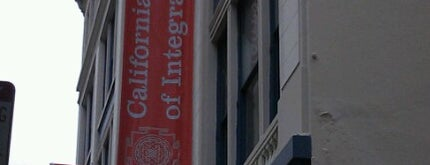 California Institute of Integral Studies is one of San Francisco 3.