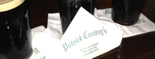 Patrick Conway's is one of NYC.