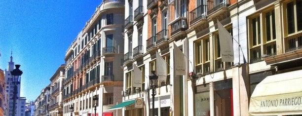 Calle Marqués de Larios is one of 101 cosas que ver en Málaga antes de morir.