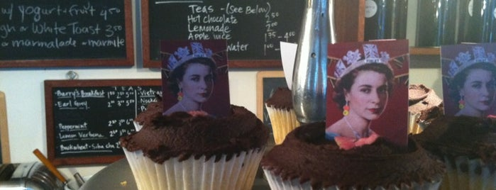 Violet is one of London's Cupcakeries.