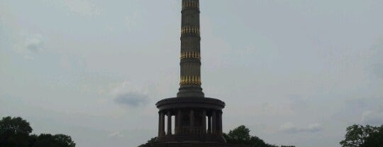 Colonne de la victoire is one of StorefrontSticker #4sqCities: Berlin.