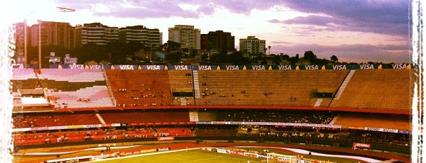 Estádio Cícero Pompeu de Toledo (Morumbi) is one of Sports Arena's.