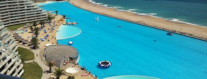 San Alfonso del Mar is one of Chile.