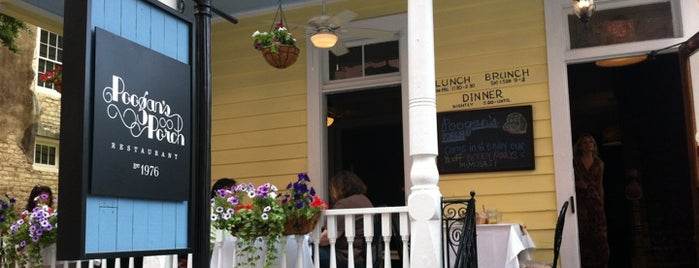 Poogan's Porch is one of Charleston.