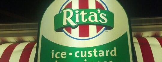 Rita's Italian Ice & Frozen Custard is one of Food.