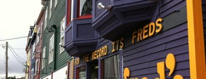 Fred's Records is one of O Canada!.
