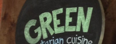 Green Vegetarian Cuisine At Alon is one of san antonio. Texas.