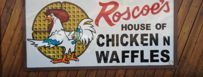 Roscoe's House of Chicken and Waffles is one of Must-See African American Historical Places In US.