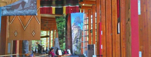Squamish Lil'wat Cultural Centre is one of Arthur's Main list of things to do..