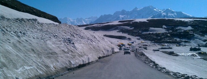 Rohtang Pass is one of India North.
