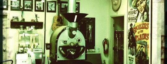 Maverick's Coffee House & Roasting Company is one of Roads.