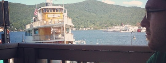 Lake George Shoreline Restaurant is one of Interesting....