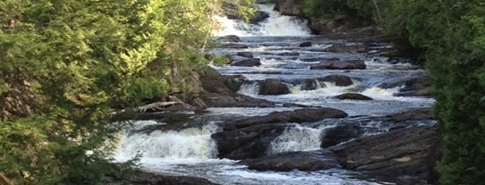 Moxie Falls is one of Maine.