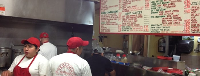Taqueria el Buen Sabor is one of Lugares favoritos de Elijah.