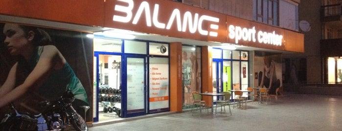 Balance sport center is one of Yeti'nin Kaydettiği Mekanlar.