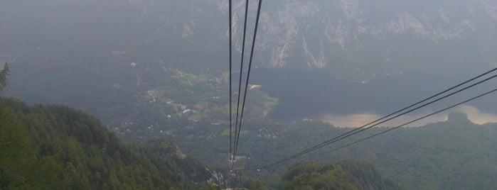 Gondola Vogel is one of Slovenia.