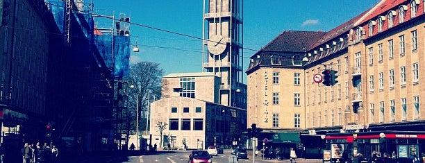 Banegårdspladsen is one of Aarhus.