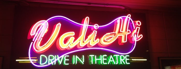 Vali-Hi Drive-In is one of more to do list.