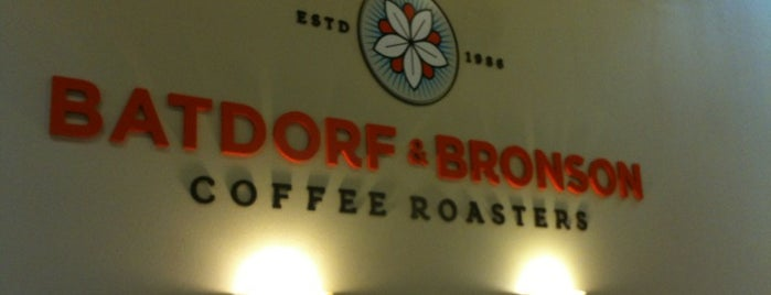 Batdorf & Bronson Coffeehouse is one of Tempat yang Disukai Richard.
