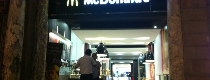 McDonald's is one of BCN 2012.