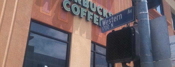 Starbucks is one of Hillary : понравившиеся места.