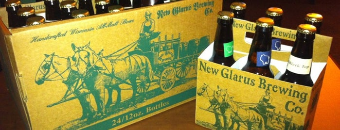 New Glarus Brewing Company is one of Breweries.