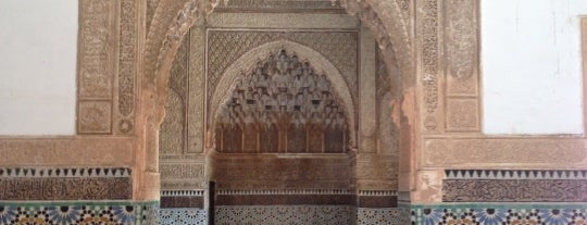Saadian Tombs is one of Marrakesh.