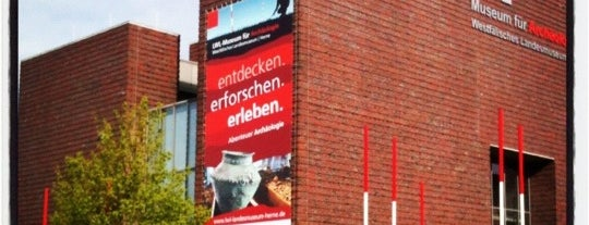 LWL-Museum für Archäologie, Westfälisches Landesmuseum Herne is one of 4sqRUHR Herne #4sqCities.