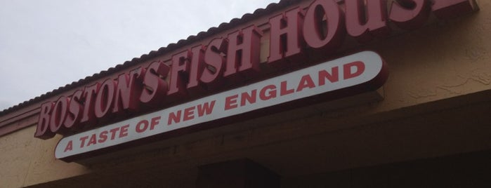 Boston's Fish House is one of Drunk eats.