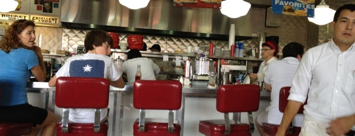 Johnny Rockets is one of I've Been Here.