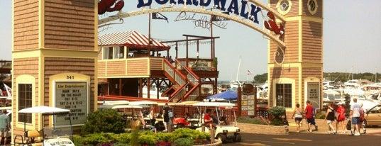 The Boardwalk is one of Locais curtidos por Steven.