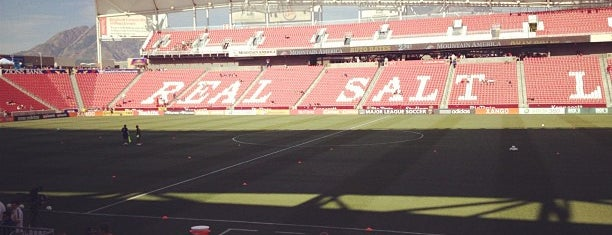 Rio Tinto Stadium is one of All-time favorites in United States (Part 1).
