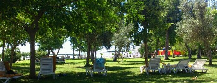 Le Jardin Resort & Spa is one of Locais curtidos por Papyon Cicek / Kemer.