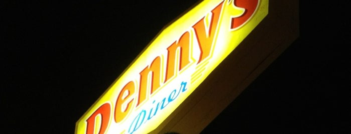 Denny's is one of John's Liked Places.