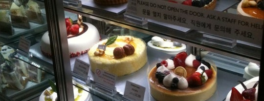 Paris Baguette is one of Korea Town.