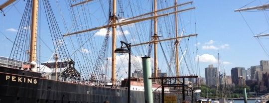South Street Seaport is one of Guide to New York's best spots.