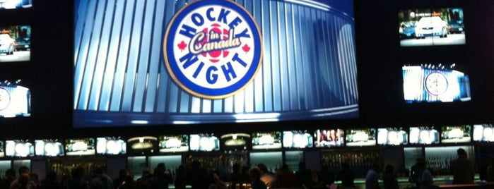 Real Sports Bar & Grill is one of MLS Pubs in Toronto.