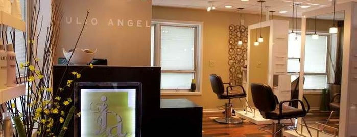 Julio Angel Hair Studio is one of Locais curtidos por Christine.