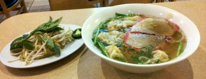 Pho Convoy Noodle House is one of Good Asian places to eat.