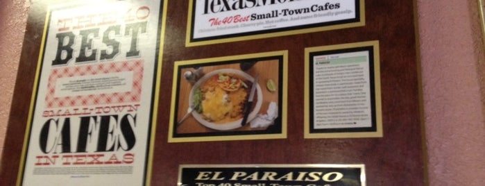 El Paraiso is one of Texas Places.