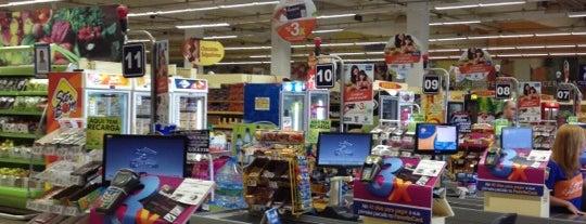 Favorito Supermercados is one of ATM - Onde encontrar caixas eletrônicos.
