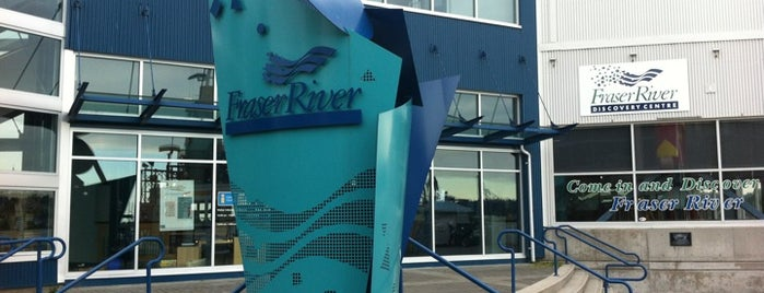 Fraser River Discovery Centre is one of A futuro.