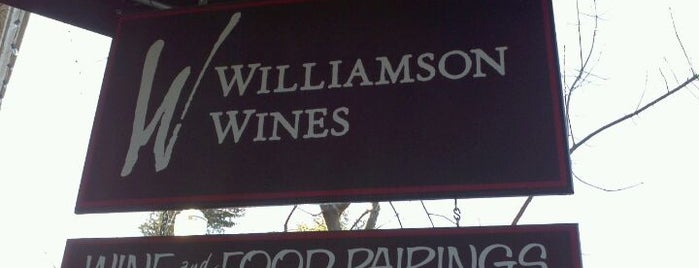Williamson Wines is one of Sonoma County.